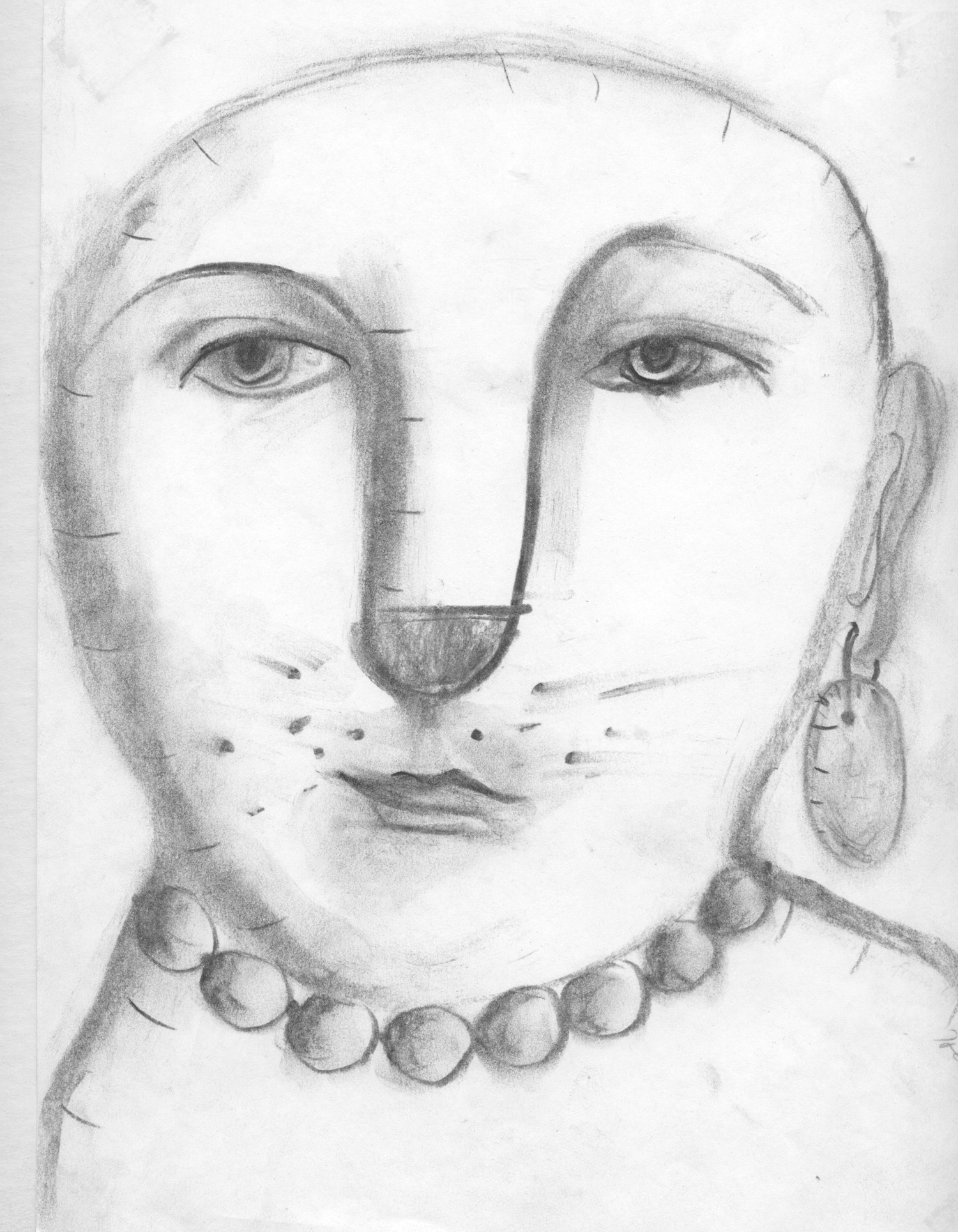 charcoal-drawing-with-one-earring-2011