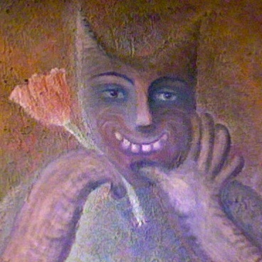 oil-paintingcat-calling
