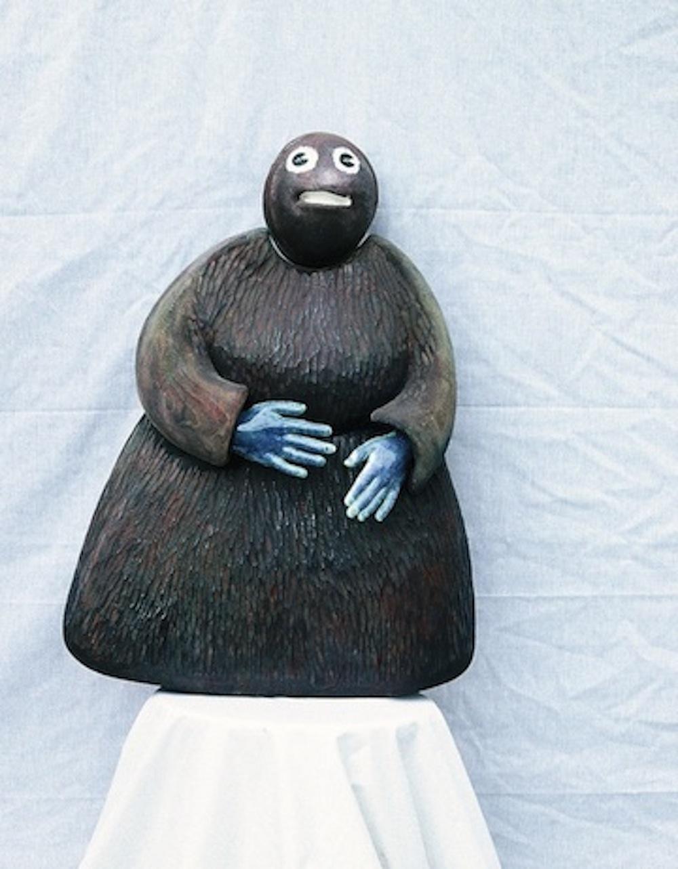 sculpture-bean-lady